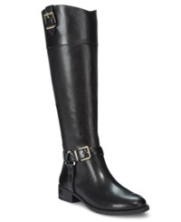 Inc International Concepts Women's Fedee Wide Calf Tall Boots Only At Macy's Women's Shoes Black