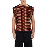 Marni Men's Stockinette Stitched Sleeveless Sweater No Color