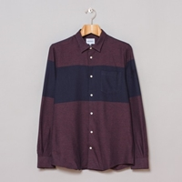 Norse Projects Emil Shirt Petrol Blue Oi Polloi