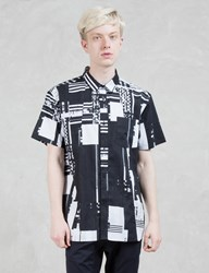 Dope Glitch S S Button Up Shirt