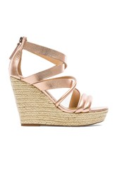 Joe's Jeans Robina Wedge Metallic Gold
