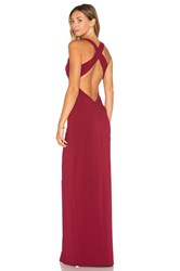 Lovers Friends X Revolve Aries Maxi Burgundy