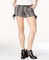 American Rag Printed Ruched Side Shorts Only At Macy's Aztec Print