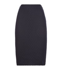 Armani Collezioni Textured Pencil Skirt Female Multi