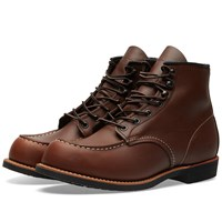 Red Wing Shoes 2954 Heritage Work Cooper Moc Toe Boot Brown