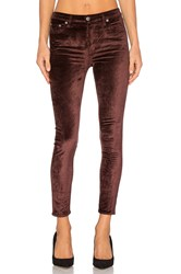 Lovers Friends X Revolve Mason High Rise Skinny Jean Brown