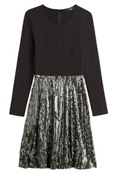 Steffen Schraut Remember Me Dress With Sequins Black