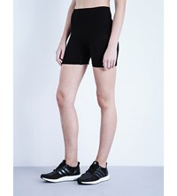 Lucas Hugh Technical Stretch Knit Shorts Black