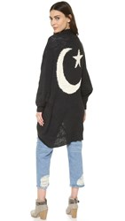 Wildfox Couture Moon And Star Cardi Dark Moon