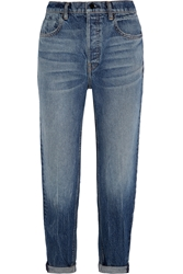 Wang 003 High Rise Boyfriend Jeans