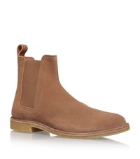 Bottega Veneta Crepe Sole Chelsea Boots Male Brown