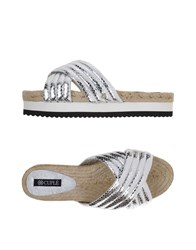 Cuple Footwear Sandals Women Silver