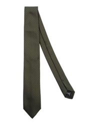 Caruso Ties Military Green