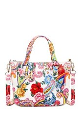 Carlos By Carlos Santana Margot Paisley Mini Satchel Crossbody Multi