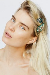 Free People Womens Applique Clip Duo