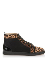 Christian Louboutin Bip Bip Suede High Top Trainers