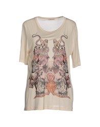 Emma Cook Topwear T Shirts Women Ivory