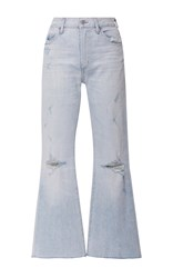 Citizens Of Humanity Fleetwood High Rise Cropped Jeans Light Wash