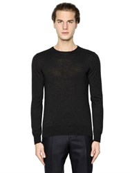 Boglioli Wool Knit Crewneck Sweater