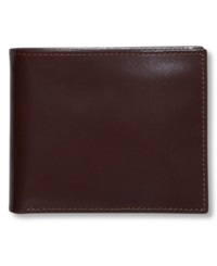 Perry Ellis Premium Leather Sutton Bifold Wallet Black