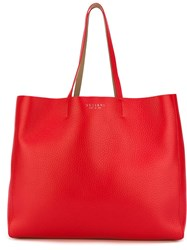 Orciani Large Shopper Tote Red