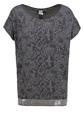 Saint Tropez Print Tshirt Tower Grey