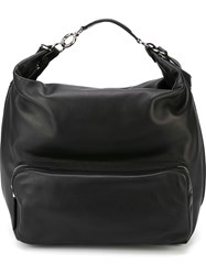 Marni Front Zipped Pocket Backpack Black