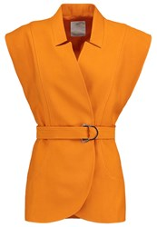 Cameo Collective Stay Cool Waistcoat Tangelo Orange