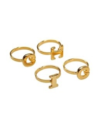 George J. Love Rings Gold