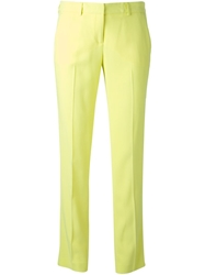 Ermanno Scervino Tailored Trousers Yellow And Orange