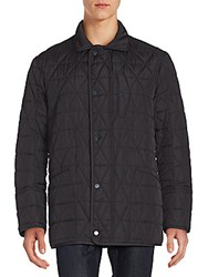 Andrew Marc New York Long Sleeve Quilted Jacket Ink