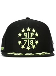 Philipp Plein 'Starlight' Baseball Cap Black