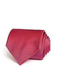 The Men's Store At Bloomingdale's Micro Harlequin Classic Tie Red