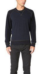 Splendid Mills Terry Active Sweatshirt Indigo