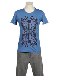 Misericordia Short Sleeve T Shirts Slate Blue