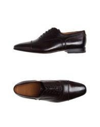 Bally Lace Up Shoes Cocoa