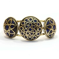Urbiana Bold Aztec Bangle Bracelet