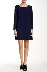 American Apparel Gia Mini Dress Blue