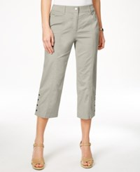 Jm Collection Embellished Capri Pants Only At Macy's Stonewall