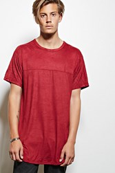 Forever 21 Victorious Faux Suede Tee