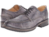 Bed Stu Henry Black Driftwood Leather Men's Lace Up Casual Shoes
