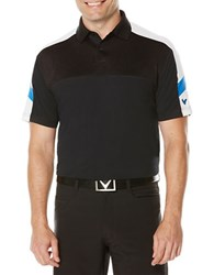 Callaway Performance Blocked Polo Black