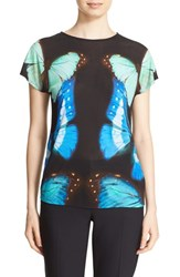 Ted Baker Women's London 'Flutor Butterfly Collective' Print Tee