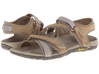 Vionic With Orthaheel Technology Muir Vionic Sport Recovery Adjustable Sandal Taupe Women's Sandals