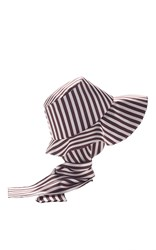 Etro Hat With Attached Scarf Navy