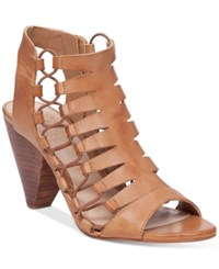 Vince Camuto Eliaz Gladiator Dress Sandals Women's Shoes Vintage Taupe