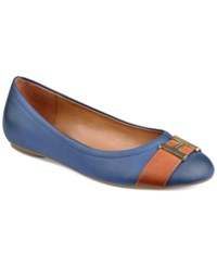 Tommy Hilfiger Pearla2 Ballet Flats Women's Shoes Navy