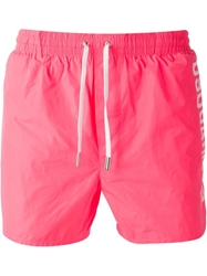 Dsquared2 Swim Shorts Pink And Purple