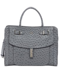 Guess Kingsley Satchel Steel