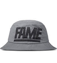 Hall Of Fame Silver 3M Block Bucket Hat